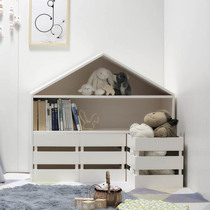 INS explosion-tailored Nordic style kids room large shape storage rack storage cabinet floor shelf Storage rack
