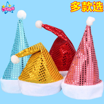 Christmas decorations Christmas hat Kids hat Christmas present Christmas adult childrens hat cartoon hat