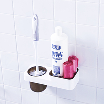Toilet suction Wall Toilet brush set long handle decontamination without dead angle cleaning brush tool toilet artifact