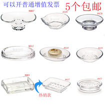 Garbo Sanitary Products hotel room acrylic soap box transparent crystal square soap box soap disc anti-fall