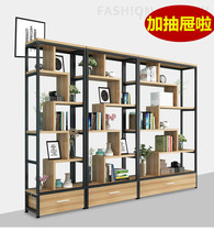 Container shelf display rack free combination partition shelf decoration product showcase showcase cosmetics display cabinet