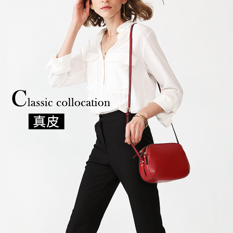 The New Genuine Leather one-shoulder lady's oblique Bag in 2019 Korean version Baitao first-layer cowhide small bag fashion lady's bag