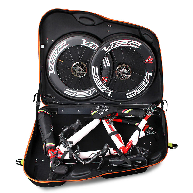 Upgrade thickened EVA hard-shell bike loading box pack dead flying mountain road car check-in box packaging