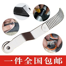 With roller tire file bicycle tire multifunctional rubbing tire skin contusion Stick file Ban piece Repair Tool