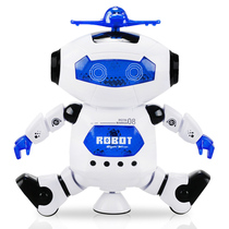 Intelligent robot Electric Singing dance 360 degree rotating robot child boy toy 2-12 years old