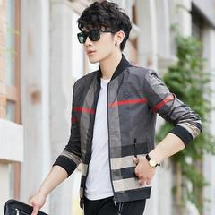 Мужчины Элегантный стиль Приталенный молодежный прилив пальто