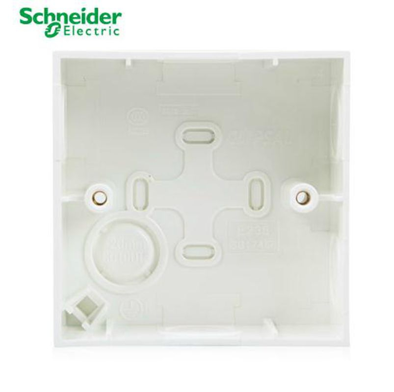Schneider Electric 86 General Open Box Wall Power Switch Socket Open Boxed Installation Box E238
