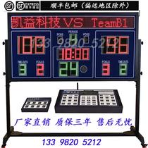 Basketball game electronic scoreboard linkage system timing scoring led basketball game 24 seconds countdown timer