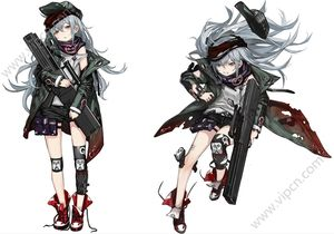 Girls Frontline Anime Online Cosplay Costumes Wigs Shoes Props