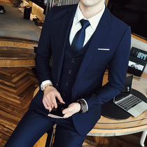 Mens self-cultivation wedding suit