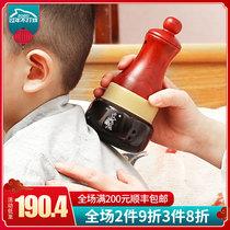 Шаньцзян камень горит AI прижигание горшок теплое прижигание прибор бытовой массажер прижигание коробка дети тай-чи мяч футонг может Ян