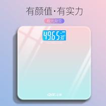 Зарядные электронные весы для дома точные и прочные весы для девочек домашние весы студенческие общежития небольшие весы для тела
