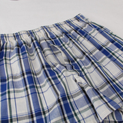 Our cotton pants men loose boxer briefs Plaid size Home Furnishing waist short youth tide breathable pants