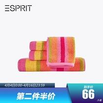 ESPRIT Home Daily хлопчатобумажные полотенца мягкие абсорбирующие домашние полотенца пляжные полотенца
