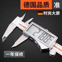 German electronic number graphics caliper cursor high-precision industrial-grade jewelry bracelet pearl text play inner diameter oil gauge