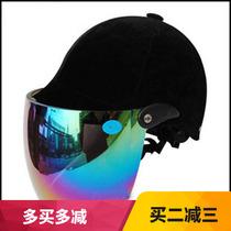 Yong Sheng brand male and female anti-ultraviolet summer helmets equestrian helmet riding helmet motorcycle Electric vehicle semi-helmet