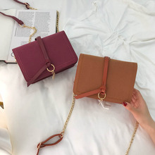 Jade July grinding Pendant 7423 retro small bag mobile phone bag grinding tide lady bag summer leisure color collision lady bag