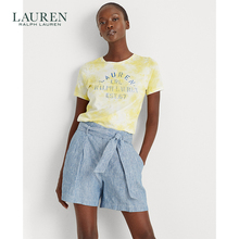 Lauren / Ralph Lauren women's wear tie dye T-shirt 60311 summer 2020