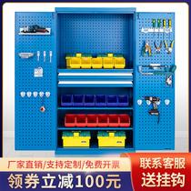 Heavy workshop tool cabinet Factory double door storage box storage Industrial auto repair hardware tin cabinet thickening