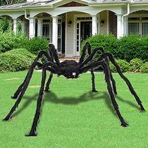5FT 6.6FT Giant Black Spider Halloween Decoration Props Plus