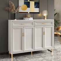 Light luxury shoe cabinet simple modern home door Xuanguan cabinet large capacity one-in-one storage cabinet multi-layer wall storage cabinet