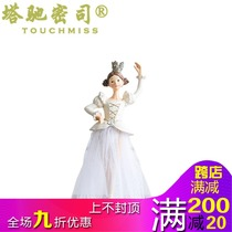 Touch Miss Resin Crafts Desktop decoration living room home Fresh jewelry furnishings cartoon puppet decoration