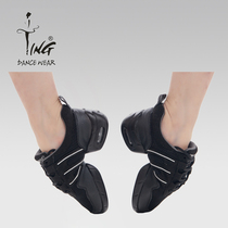 Chen Ting modern dance shoes womens Square dance shoes adult soft Bottom dancing shoes hip dance shoes high with jazz dance shoes