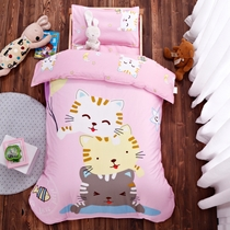 Nursery Quilt Three sets of pure cotton containing core baby entrance bed products single 1.2M children nap six sets