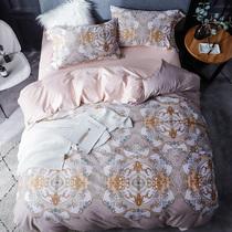 Хлопок лист одеяло установить двойной лист 4-х обложки для 4 х хлопка постельных принадлежностей