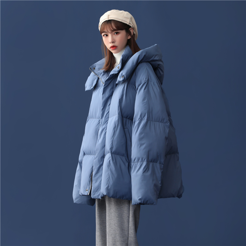 Winter 2020 new womens cotton coat gentle lazy wind Korean version of loose chic students ins cotton clothing tide