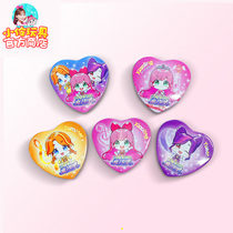 Little Ling Toys Official Store City Link Family Girl Princess Magic World Girl Love Metal Badge