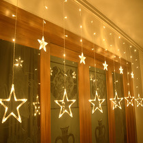 Led starlight small color light flash lights full of stars romantic bedroom decoration girls room layout net red light