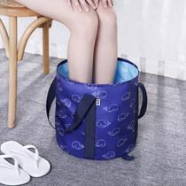 Collar Ben travel portable collapsible Basin travel thickened washbasin large multi-purpose foot bath outdoor bucket