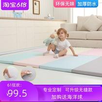 Export baby crawling mat thickened 5cm childrens baby living room splicing mat custom tasteless folding climbing mat