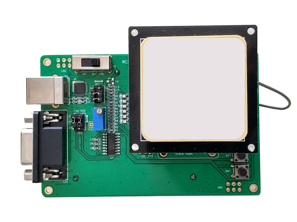 Long Range UHF UHF RFID Module RF100/RF100Lite Evaluation Board