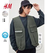 (Китай Лимитед) HM Мужская Вест Куртка 2020 Зима Новый Down Вест 0891428