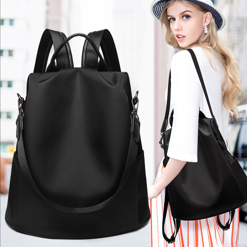 Anti-theft Oxford shoulder bag woman 2018 new nylon Korean version canvas baggage Travel Backpack