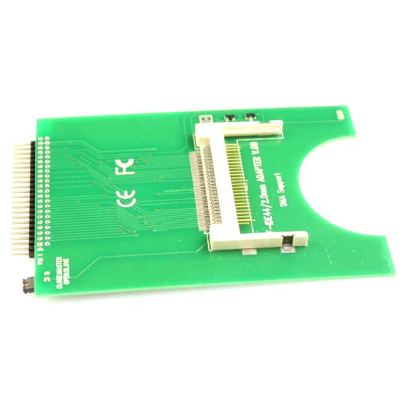 Laptop hard drive, CF to 44 Pin Laptop HDD Hard Drive IDE Adapter Bootable