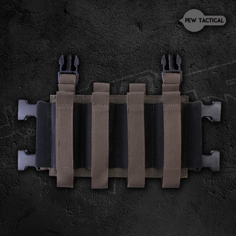 PEW TACTICAL Four SMG attack front panel LV119 MK3 MK4 JPC2.0 elastic panel