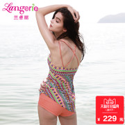 2017 new Lanzhuoli Bohemia wireless split swimsuit sexy Beach Spa swimsuit