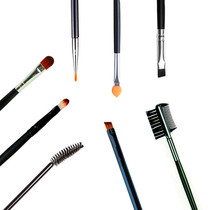 5 50 percent long pole eye shadow brush soft eyebrow brush Eyebrow brush Eyeliner Brush Eyeliner Mascara Lip Brush Eyelash Roll Eyelash Comb Oblique