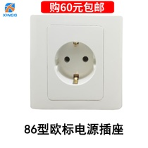 Model 86 European Standard Power Socket 16A250V Korean German Standard Russian European Standard Wall Switch Household Panel