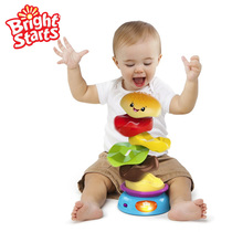 Super good export American le ball rotating burger stacked music infant early education toys