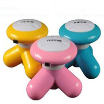 USB Multifunctional Full Body Vibration mini small head neck massager Household Electric Triangle acupoint instrument