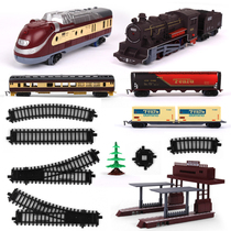 Endeavour track train toy simulation train accessories Locomotive track train station scene expansion pack accessories