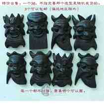 US buy 2018 Special price Guizhou Anshun specialty Pure handmade wood carving nuo noodle play mask evil suit