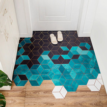 Can scrub the door mat into the home door home living room carpet door mat kitchen non-slip waterproof disposable mats