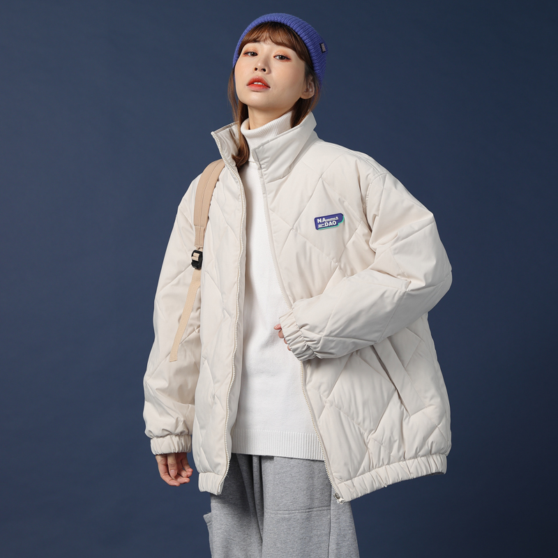 Cotton clothing 2020 new womens thick cotton ins Port Fengyuan down jacket medium-length version of cotton winter coat