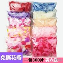 Ino flower children dry pink petals decorate the flower-shaped room in bulk red sweet girl carpet ribbon