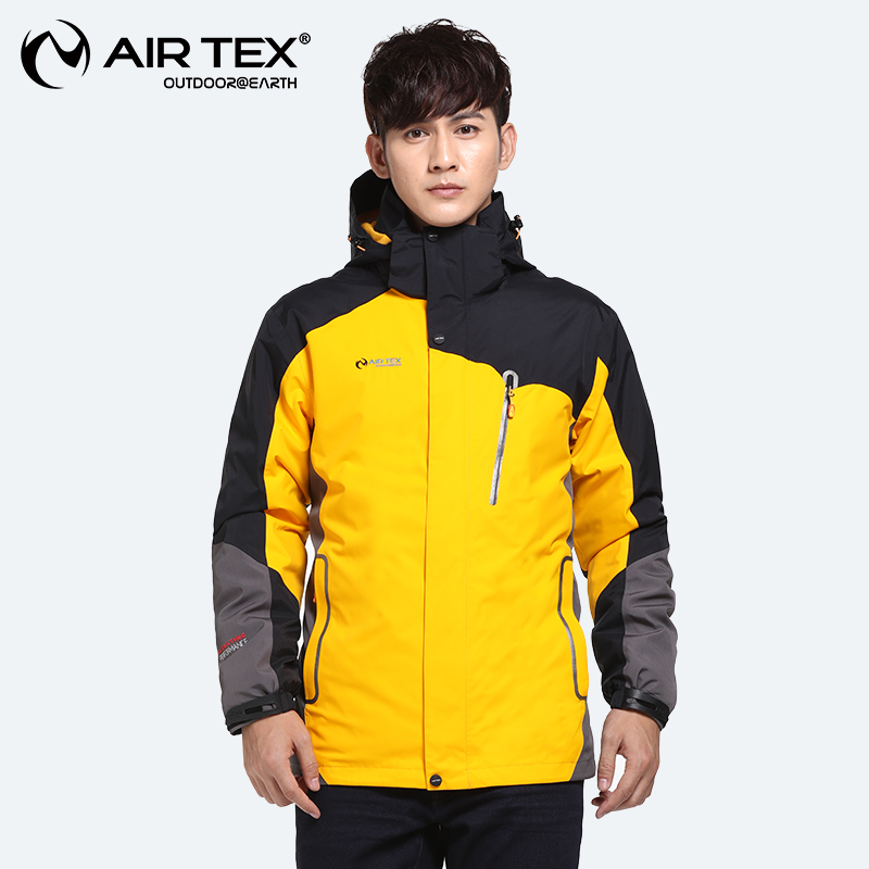 [The goods stop production and no stock]British Yate autumn and winter men's waterproof jacket two-piece three-in-one jacket outdoor mountaineering clothing authentic